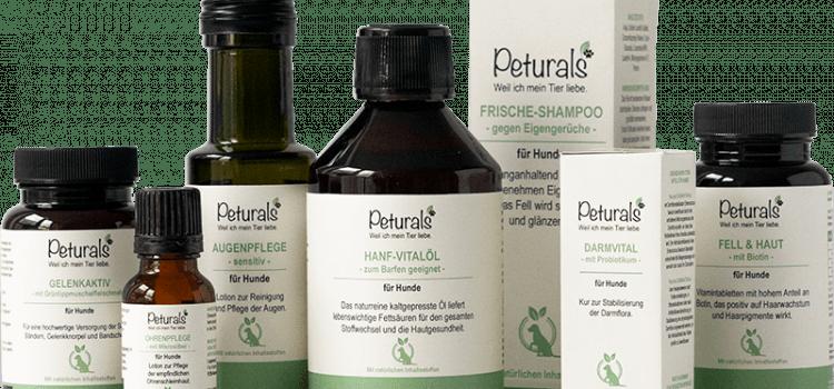 Jetzt neu: Peturals – Nahrungsergänzung und Pflege für Hunde aus der Apotheke